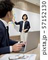ビジネス 会議 プレゼン ミーティングイメージ 57152130