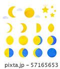 月の満ち欠け 57165653