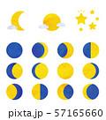 月の満ち欠け 57165660