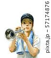 夏の吹奏楽部 57174876