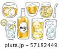 酒 ウィスキー レモンサワー 57182449