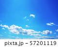 空 青空 背景、背景素材 57201119