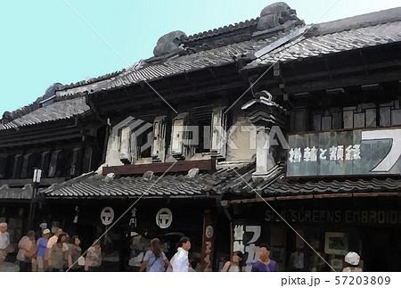 日本 川越 観光イメージ 57203809