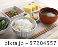和食の朝ごはん 57204557
