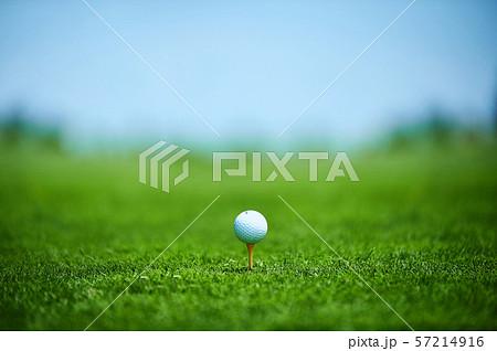 ゴルフ ティーアップ 57214916