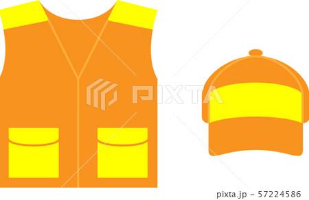 狩猟オレンジベスト 57224586