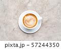 cup of espresso Coffee on conrete background 57244350
