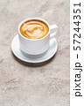 cup of espresso Coffee on conrete background 57244351
