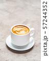 cup of espresso Coffee on conrete background 57244352