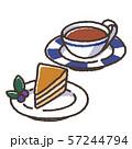 ケーキと紅茶 57244794
