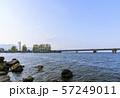 滋賀県・琵琶湖・近江大橋 57249011