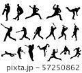 野球シルエット 57250862