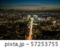 東京都心の夜景 57253755