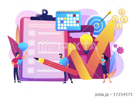 Project planning vector illustration 57254575