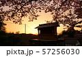 吉野山 韋駄天山 夕暮れ 57256030