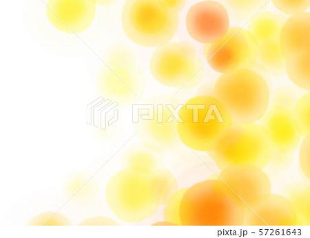 丸模様 オレンジ テクスチャー 57261643