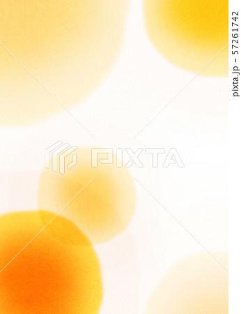 丸模様 オレンジ テクスチャー 57261742