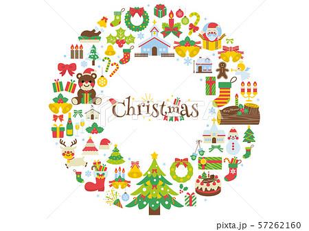 クリスマスイラスト2 57262160