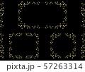 手描き ゴールドリーフ フレームセット 57263314