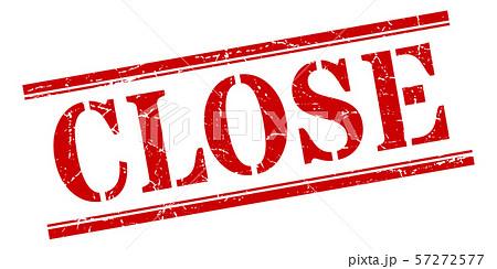 close stamp. close square grunge sign. close 57272577