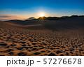 《鳥取県》鳥取砂丘の夜明け 57276678