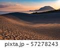 《鳥取県》鳥取砂丘の夜明け 57278243