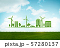 Clean energy and environment - 3d rendering 57280137
