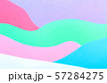 Abstract wavy multi colored paper background 57284275