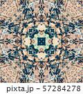 Abstract geometric symmetrical fractal pattern 57284278