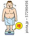 体重測定 57290456
