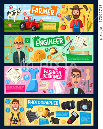 Engineer, farmer, fashion designer, photographer 57292713