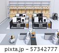 協働型双腕ロボット、AGV無人搬送車、マシニングセンタ、自動運転フォークリフトがあるスマート工場 57342777