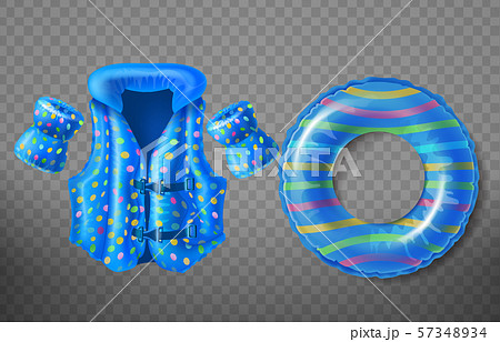 inflatable swim ring, life vest, armbands 57348934