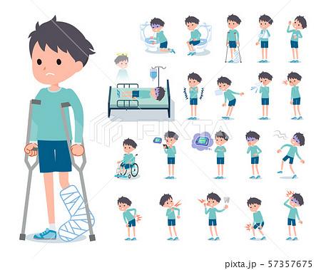 flat type blue clothing boy_sickness 57357675