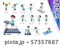 flat type blue clothing boy_exercise 57357687