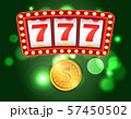 Slot or Fruit Machine, Casino Club and Gold Coin 57450502