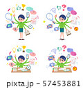 flat type Green clothing glasses boy_mulch task 57453881