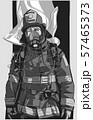 Firefighter illustration poster print shirt design 57465373