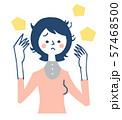 髪の悩み 女性 57468500