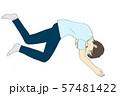 無気力に寝る男性2 57481422