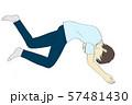 無気力に寝る男性 57481430