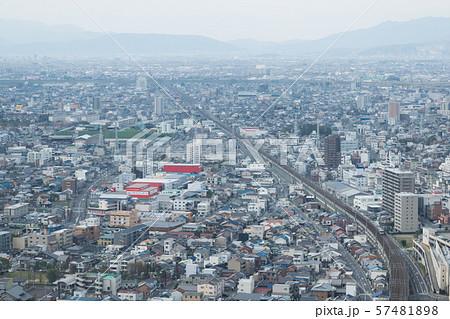 岐阜駅前、空から眺める岐阜市 57481898