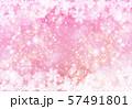 ピンク色雪柄 57491801