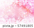 ピンク色雪柄 57491805
