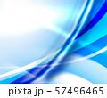 ウェーブ エコ 波形 曲線模様 抽象模様 アブストラクト  57496465