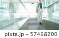 ビジネスウーマン オフィス オートスロープ ビジネスイメージ 57498200