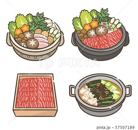寄せ鍋 すき焼き セット 57507189