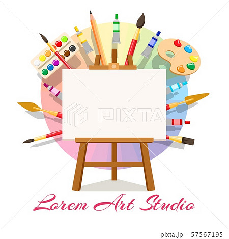 Painting workshop elements 57567195