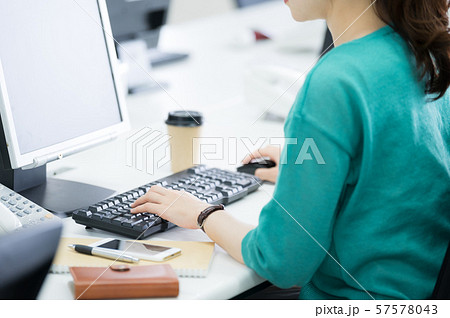 ビジネスウーマン パーツ 57578043