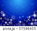 キラキラ背景クリスマス2 57586455